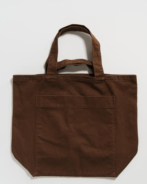 Giant Pocket Tote | Washed Brown