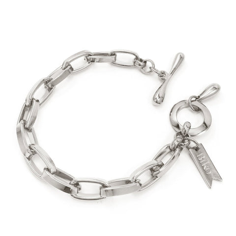 Chainlink Bracelet | Small | Rhodium Dipped