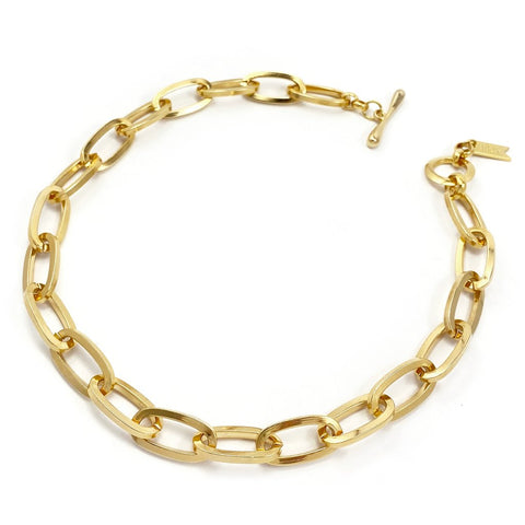Chainlink Collar | 14k Gold Dipped