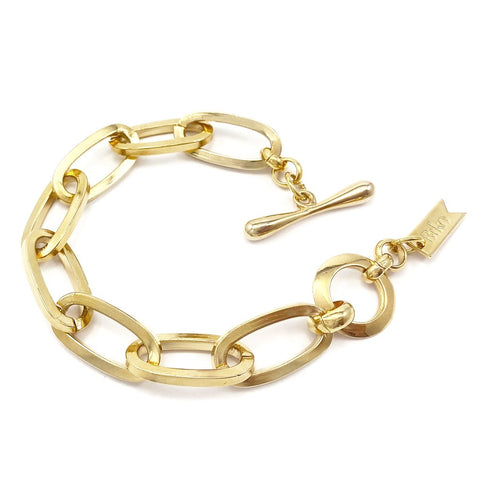 Chainlink Bracelet | 14k Gold Dipped