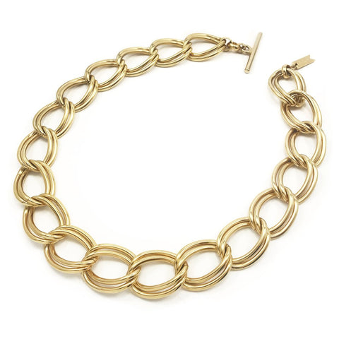 Coastline Collar | 14k Gold Dipped