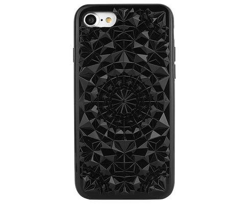 Kaleidoscope iPhone Case, Black