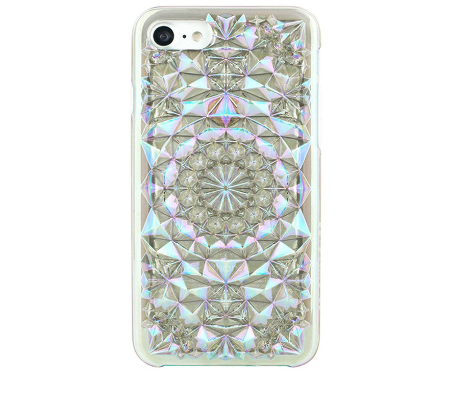 Kaleidoscope iPhone Case, Cosmic Clear-Tech-Felony Case-7-ZANE