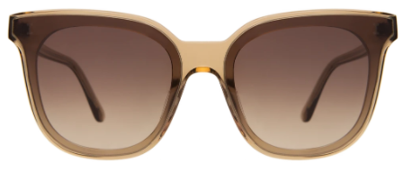 Camille 64 | Brown w/ Brown Flat Gradient Lens
