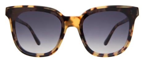 Camille 64 | Tortoise w/ Grey Flat Gradient Lens
