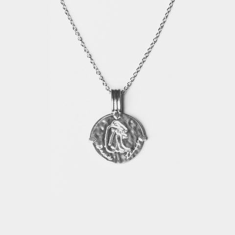 Cancer Necklace Silver