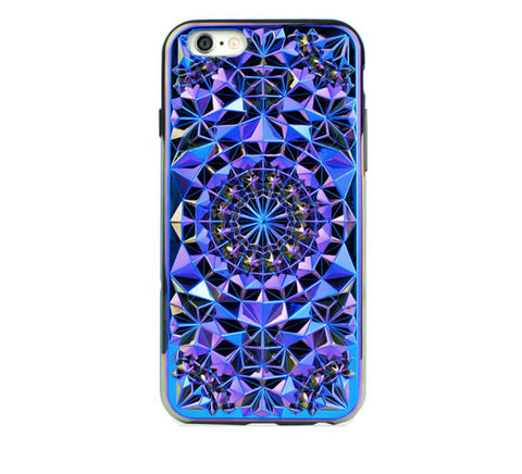 Kaleidoscope iPhone Case, Cosmic-Tech-Felony Case-6-ZANE