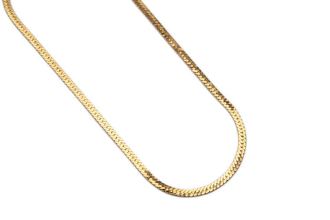 Nat Necklace Gold