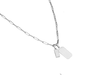 Del Carmen Necklace Silver