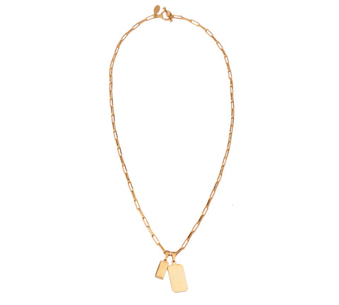 Del Carmen Necklace | 14K Gold Dipped