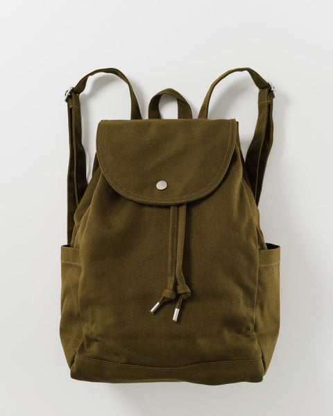 Drawstring Backpack | Kelp