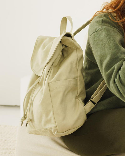 Drawstring Backpack Matcha