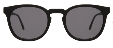 Eldridge | Matte Black w/ Grey Flat Lens