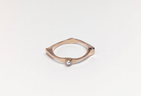 In Tandem Ring Rose Gold
