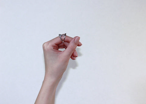 Undulate Knuckle Ring | Sterling Silver