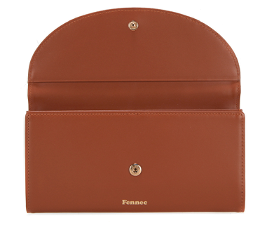 Halfmoon Long Wallet Amber