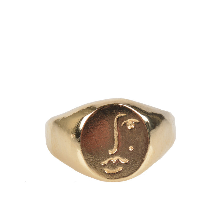 Matisse Ring, Gold
