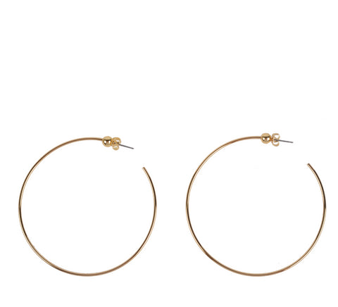 Jenny Bird-Icon Hoop M, Gold-Jewelry--ZANE-Toronto-Canada