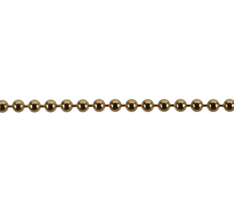 "Come Again-Ball Chain, Gold Fill-Jewelry-16""-ZANE-Toronto-Canada"