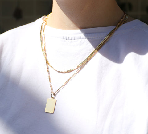 Venice Necklace | 14K Gold Dipped