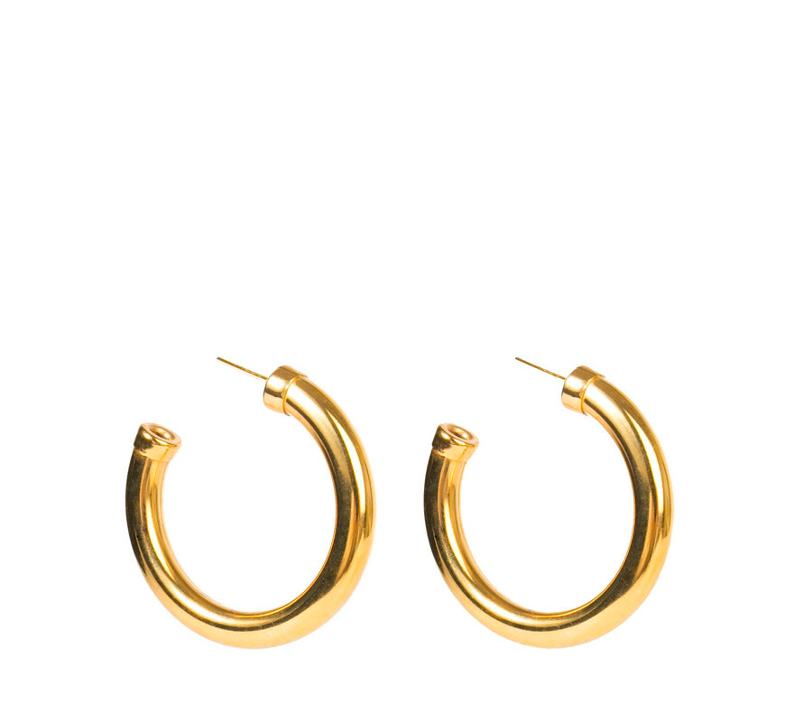 Mini Kinney Hoops, Gold