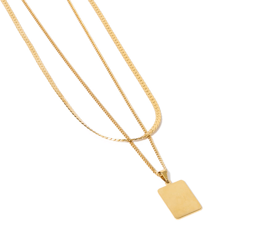 Cuchara-Venice Necklace, Gold-Jewelry--ZANE-Toronto-Canada