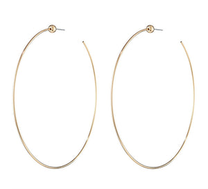 Jenny Bird-Icon Hoop, Gold-Jewelry--ZANE-Toronto-Canada