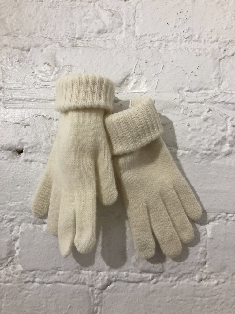 Lambs Wool Touch Glove, Cream