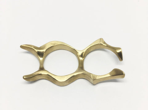 Undulate Fused Medium Brass