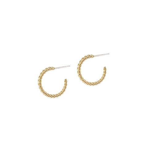 Helix Hoops Small - Gold
