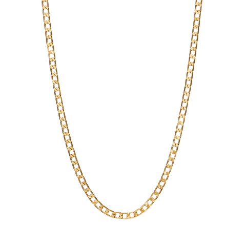 Walter Chain | 14k Gold Dipped