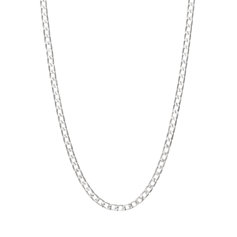 Walter Chain | Rhodium Dipped