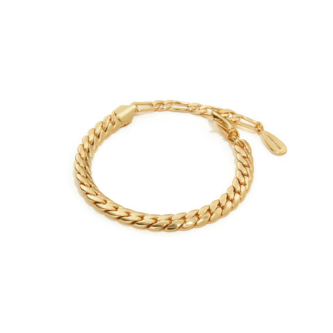 Biggie Chain Bracelet | 14K Gold Dipped