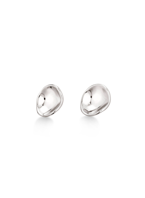 Gaia Earrings | Silver Dipped