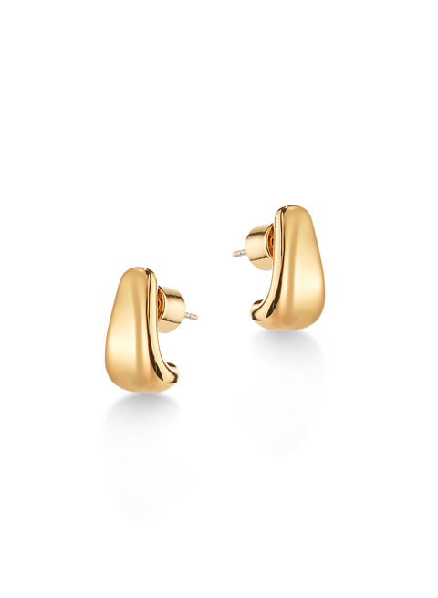 Juno Huggies | 14K Gold Dipped