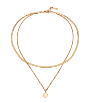 Julia Necklace, Gold