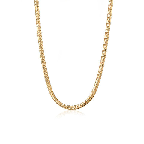 Biggie Chain | Necklace | 14K Gold Dipped