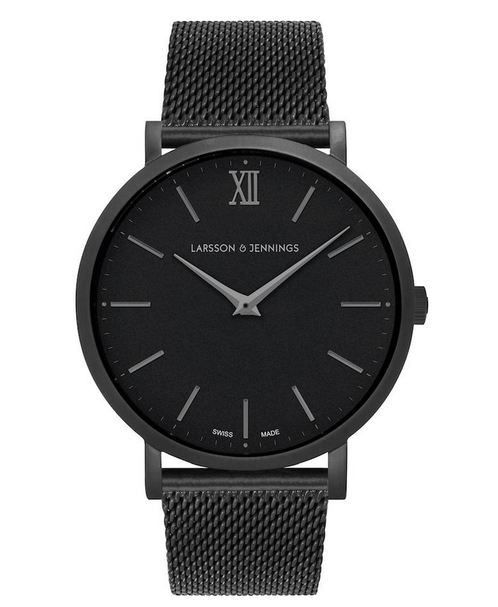 LJXII Lugano Milanese 40MM Black