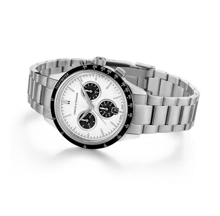 Rally Vasa Link 38MM Silver
