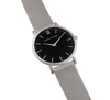 LUGANO CM 40mm MATTE SILVER-Watches-Larsson and Jennings-Matte-ZANE
