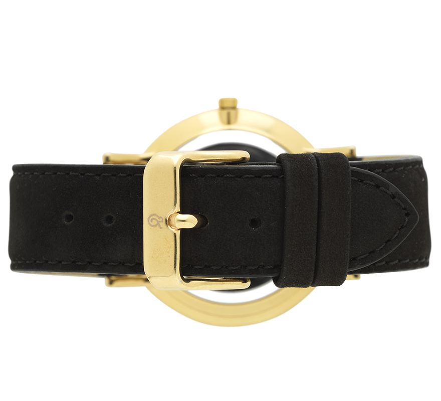 Larsson and Jennings-LUGANO LEATHER 40mm BLACK-Watches--ZANE-Toronto-Canada