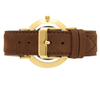 LUGANO LEATHER 40mm BROWN