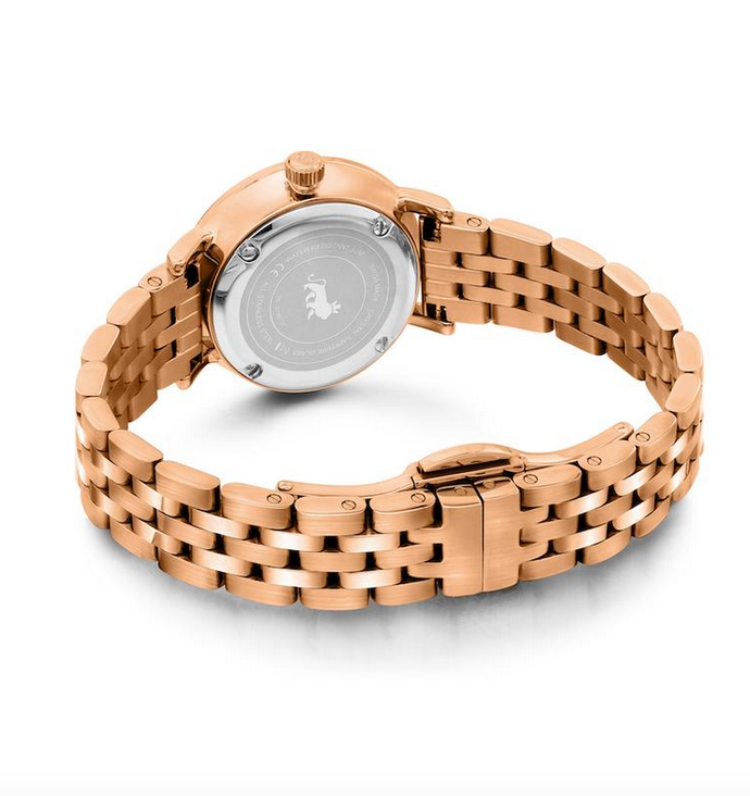 LJXII Lugano Vasa Link 26MM Rose