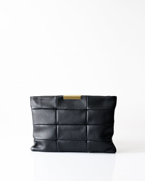 Magdalen Clutch Black