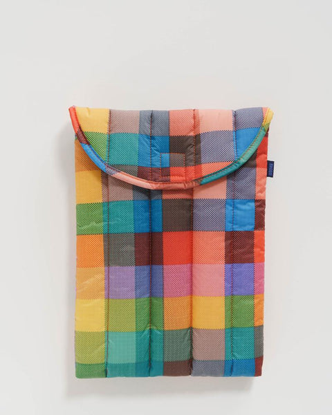 Puffy Laptop Sleeve | Madras No. 1