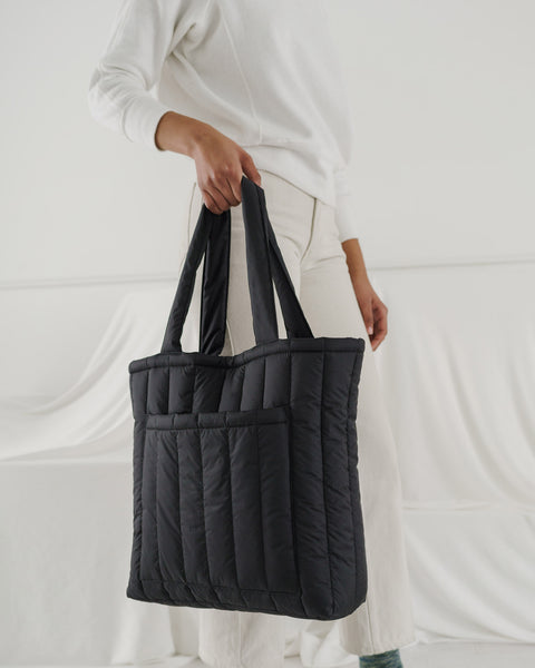 Puffy Tote Black