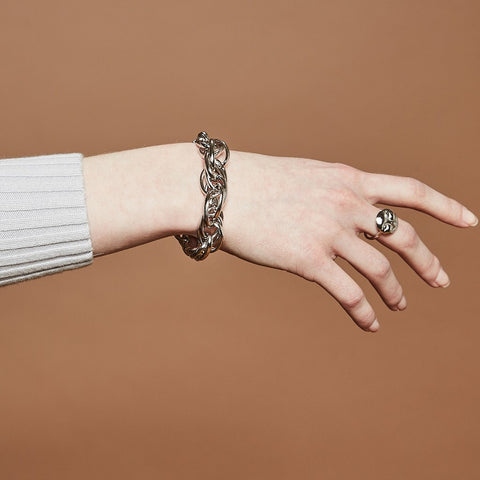 Revival Bracelet | Rhodium Dipped