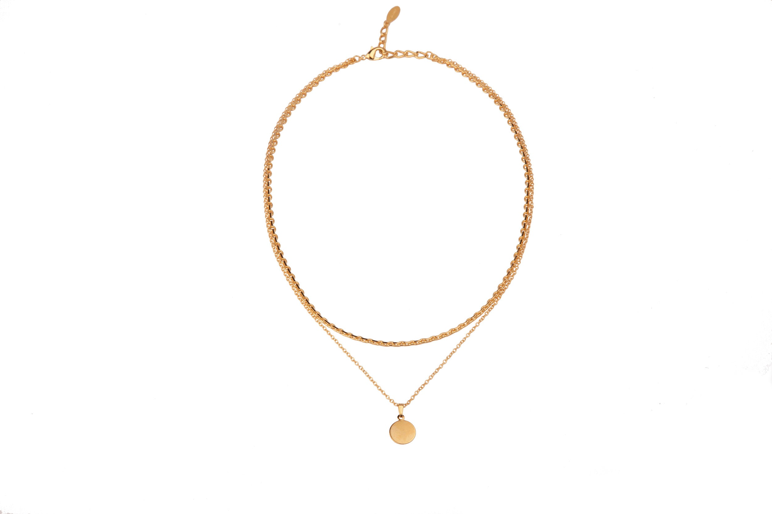 Sandy Necklace Gold