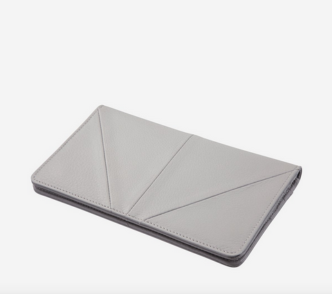 Triple Threat Wallet Light Grey