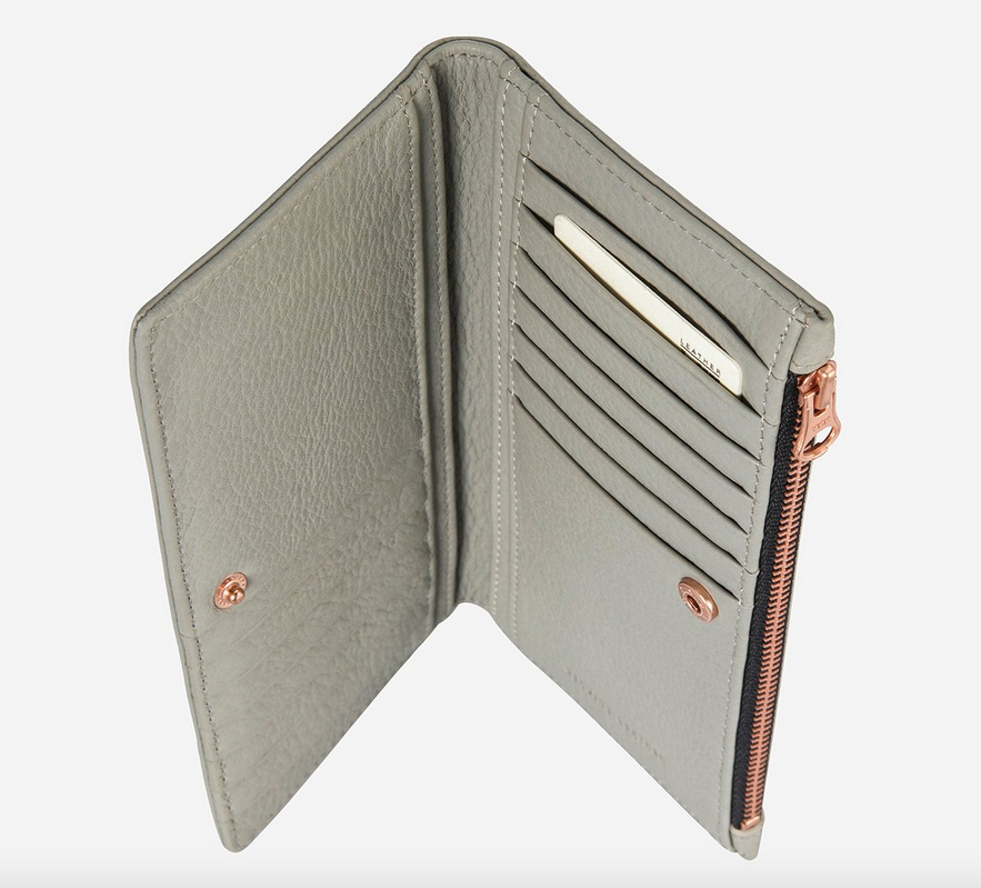 In The Beginning Wallet Light Grey